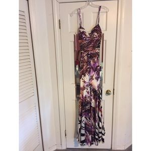 Cache Printed Gown